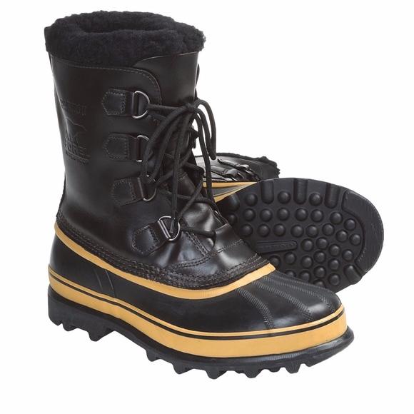 e2d13b2049a Men's Sorel Caribou Wool Winter Snow Boot NWT
